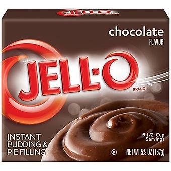 Jell-O Chocolate Instant Pudding Dessert Mix 5.9 oz Box
