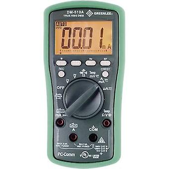 Greenlee DM-510A Handheld multimeter Digital CAT II 1000 V, CAT III 600 V Display (counts): 6000