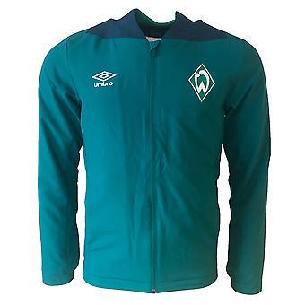 2018-2019 Werder Bremen Umbro Woven Jacket (grün)