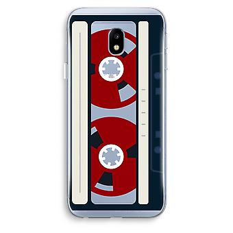 Samsung Galaxy J3 (2017) Transparent Case (Soft) - Here's your tape