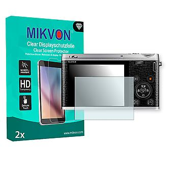 Fujifilm XF1 Screen Protector - Mikvon Clear (Retail Package with accessories)