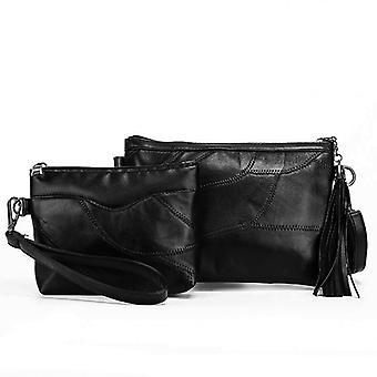 Shoulder bag, cosmetic bag, genuine Sheepskin LAMM2