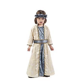 Costume enfant de princesse médiévale reine Beatrix