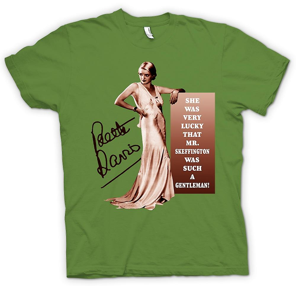 Mens T-shirt - Bette Davis - Movie - Legende Icon