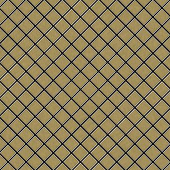 Metal mosaic Titanium ALLOY Diamond-Ti-GB