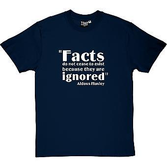 Aldous Huxley fakty cytat T-Shirt męski