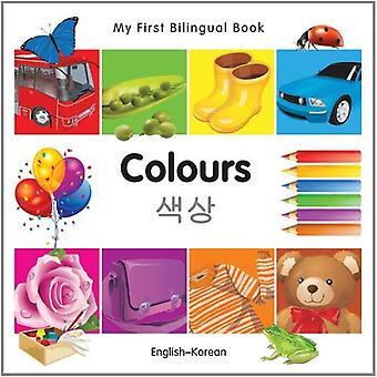 Mon premier livre bilingue - couleurs (anglais-coréen)