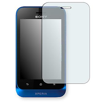 Sony Xperia ST21i screen protector - Golebo crystal clear protection film