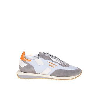 Ghoud Grey Leather Sneakers
