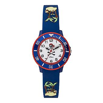 s.Oliver silicone band watch kids of young SO-3764-PQ