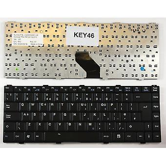 ASUS Z96F schwarz UK Layout Ersatz Laptop-Tastatur