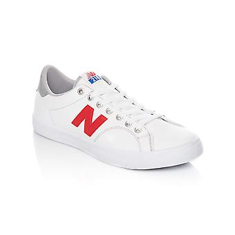 New Balance White-Red 210 Shoe