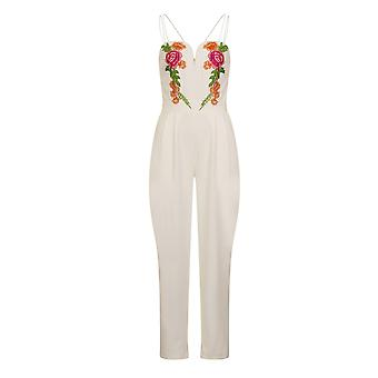 Girls On Film Womens/Ladies Florence bestickte Jumpsuit