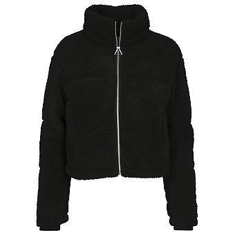 Urban Classics Women's Winter Jacket Boxy Sherpa Puffer