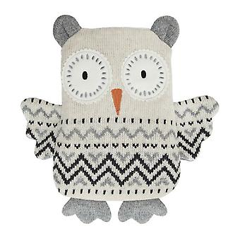 Aroma Home Knitted Huggable Hottie Body Warmer: Snow Owl