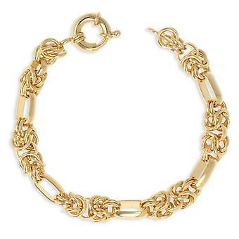 Guldpläterat halsband Royal Maille 45cm