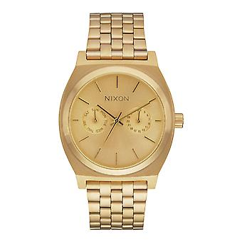 Nixon The Time Teller Deluxe All Gold (A922502)