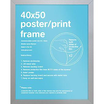 Eton Silver Frame Mini Poster / Print Frame