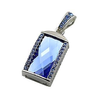 Metal u disk flash drive-8g blue