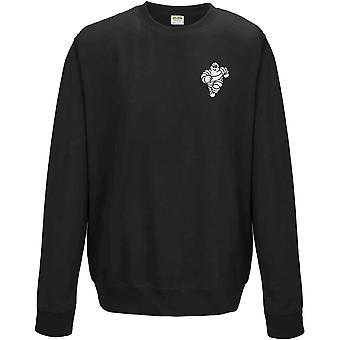 Mitchelin Man Tyres - Motoring Classic Embroidered Logo - Sweatshirt