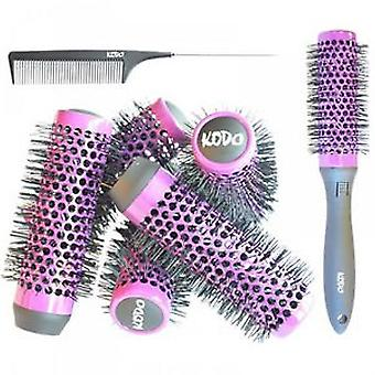 Kodo Lock & Roll Brush Set Purple 45mm