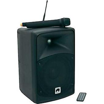 Portable PA speaker 8  Omnitronic WAMS-06BT rechargeable 1 pc(s)