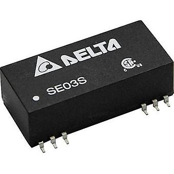 DC/DC converter (SMD) Delta Electronics 5 Vdc 600 mA 3 W No. of outputs: 1 x