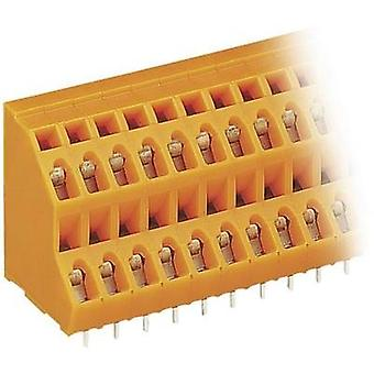 2-tier terminal 2.50 mm² Number of pins 8 736-304 WAGO Orange 1 pc(s)