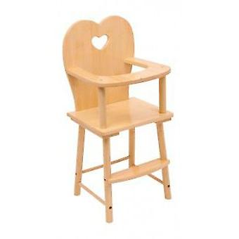 Legler Natural Highchair (Toys , Dolls And Accesories , Baby Dolls , Furniture)