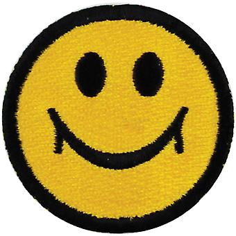 Iron-On Appliques-Happy Face A001300-211