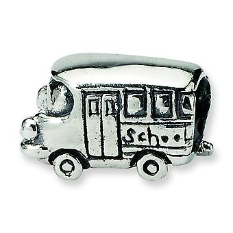 Sterlingsilber antik-Finish Reflexionen SimStars Kinder Bus Bead Charm