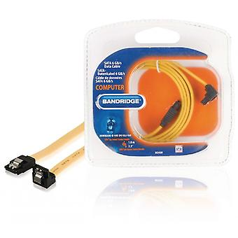 Bandridge SATA 6 Gb/s Cable Internal SATA 7-Pin Female - SATA 7-Pin Female 1.00 m Yellow