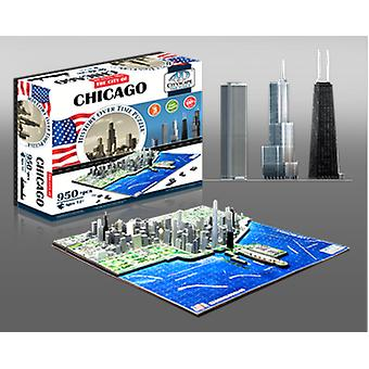 4D Cityscape Chicago (Toys , Boardgames , Puzzles)