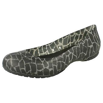 Ladies Slip On Crocs Pumps Carlisa