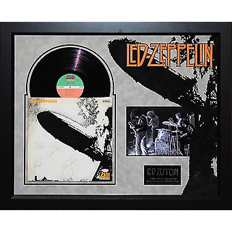Led Zeppelin Vinyl Album Signed by 4 Members