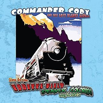 Commander Cody & hans Lost Planet flyvere - Live på Ebbetts felt [Vinyl] USA import