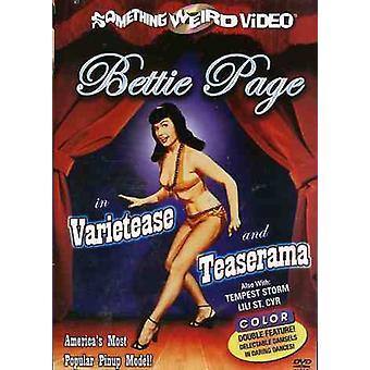 Varietease/Teaserama [DVD] USA import