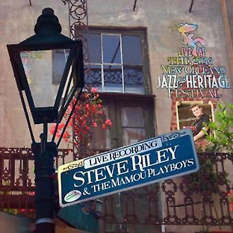 Steve Riley & Mamou Playboys - Live på Jazzfest 2013 [CD] USA import