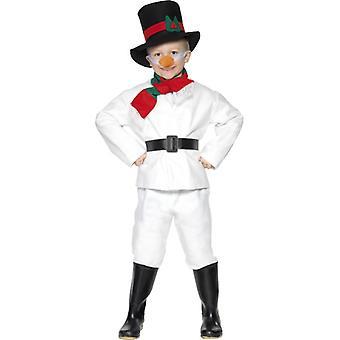Snowman costume child snowman costume