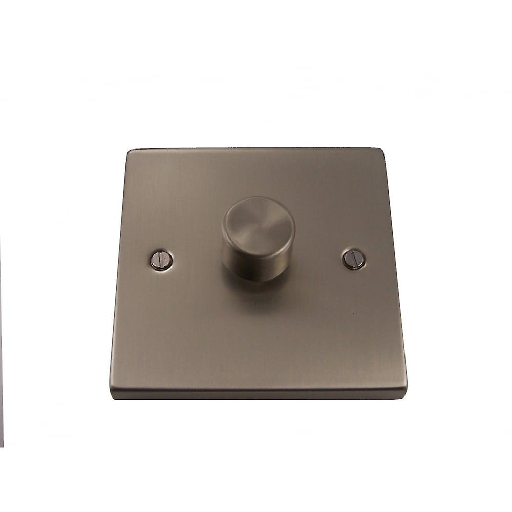Causeway 1 Gang Dimmer Switch, Satin Chrome