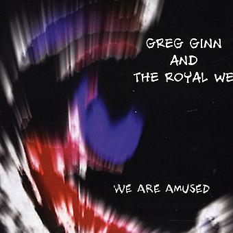 Greg Ginn & den kongelige vi - vi er morede [CD] USA importerer