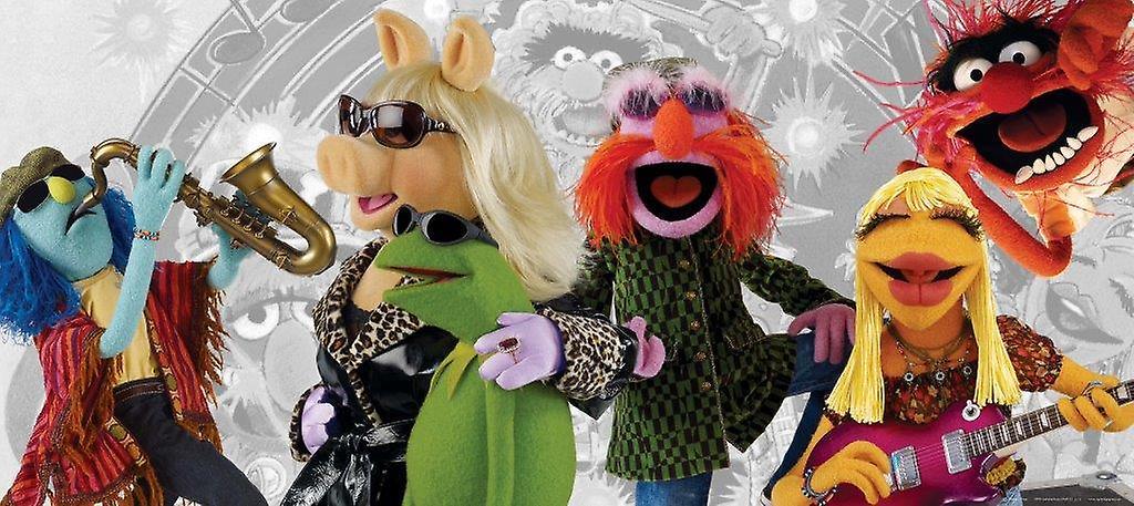 Decoración de la pared Horizontal de Muppets