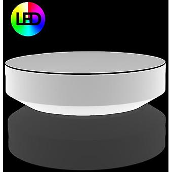Vondom Resteve Vela Sofa Table Ø120X30 Rgb Led Ice 54031L