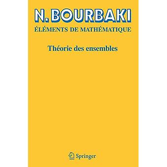 Théorie des ensembles (French Edition) (Paperback) by Bourbaki N