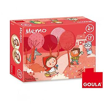 Goula Memo Red Riding Hood (Toys , Boardgames , Skills)