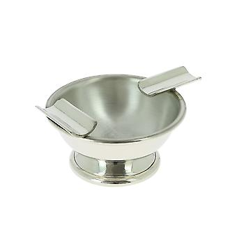 Vulfix Pewter Shaving Bowl with Razor and Brush Rests PS002