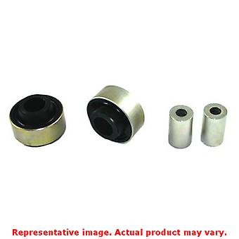 Whiteline Synthetic Elastomer Bushings W53188 Front Fits:AUDI 2000 - 2006 TT BA