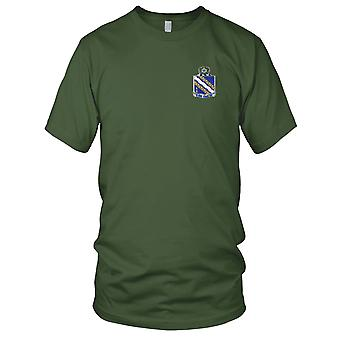 US Army - 144th Infantry Regiment Embroidered Patch - Ladies T Shirt