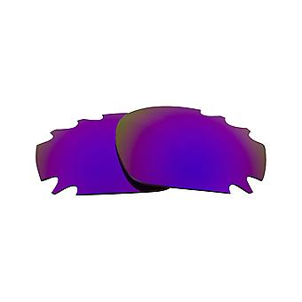 VENTED JAWBONE Replacement Lenses Polarized Silver & Purple by SEEK fits OAKLEY