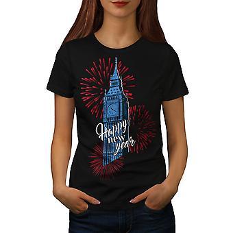Reino Unido torre torre nueva BlackT-camisa de las mujeres | Wellcoda